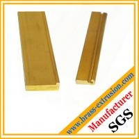 brass copper alloy extrusion profiles section hardware OEM Manufactures