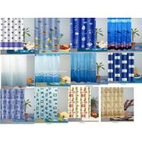 100% Polyester Shower Curtain Manufactures
