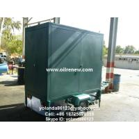 Mobile Insulation Oil Purifier/ Oil Decolorization/Oil Purification and Filtration Machine Manufactures