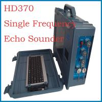 Water depth measuring instrument single frequency echo sounder for sale Manufactures
