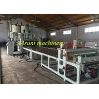 PLC control 100% recycle two layer PET Sheet Making Machine 1400mm width Manufactures
