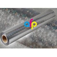 Holographic Metalized BOPP Film, BOPP Transparent Film Roll For Packing Manufactures