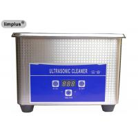 China Limplus Household Mini 800ml Benchtop Ultrasonic Cleaner Jewel Cleaning 42khz for sale