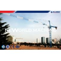 6 T Self - Climbing Tower Crane Used In Building Construction Manufactures
