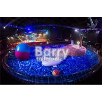 Customized Indoor Inflatable Ball Pond Mini Inflatable Pool With Ball Pits Manufactures