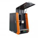 Closed Type 20W 110*1100mm Fiber Laser Marking Machine for Metal