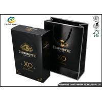 Drawer Type Paper Wine Box Excellent Scratch Resistance For Hennessy X.O Manufactures