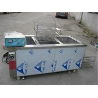 Manual Automatic Glass Cleaning Machine Three Tank Aluminum Degreasing 6KW Heating Power Manufactures