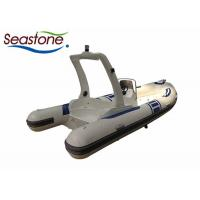 Fast Rigid Hulled Inflatable Boat High Powered Engine Low Maintenance Costs Manufactures