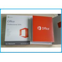 Genuine Key Microsoft Office 2016 Professional Software Retailbox With USB office 2016 Home and business Manufactures