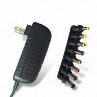 24W Universal Horizontal Insert Wall Series Switching AC/DC Adapter with UL-/FCC-/CB-/CE-certified Manufactures