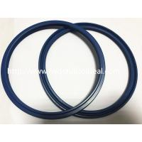 Pneumatic Cylinder IUIS IUI Rod Buffer Seal PU Material Blue Color Manufactures