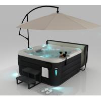 Combo Massage Outdoor Spa Tub , Swimming Pool Outdoor Hot Tub