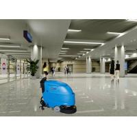 Stable Automatic Self Control Electric Floor Scrubber In Stations Hard Floor Manufactures