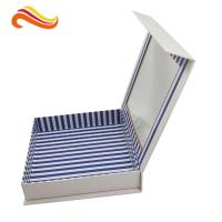Creative handmade gift packaging boxes customized beautiful packaging boxes with window Manufactures