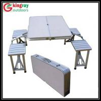 folding camping table chair set Manufactures