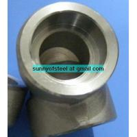 China ASME SA-182 ASTM A182 F65 soket weld 90deg elbow on sale