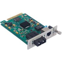 Buy cheap SNMP Manageable Fiber Optic Network Card 10/100/1000 Base-TX To 1000 Base-FX 1*9 from wholesalers
