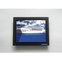 China Anti Glare Touch Screen Display Monitor , Waterproof LCD Monitor For Vessel Surveillance on sale
