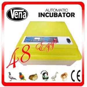 Double color mini make chicken egg incubator VA-48 for sale Manufactures