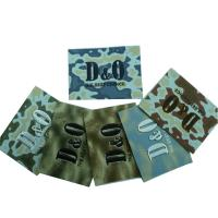 Customized Personalized Embossed Leather Patches, Colorful Jeans Label Manufactures