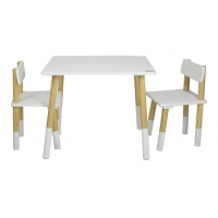 China 40KG 63cm Height Childrens Table And Chairs Set on sale