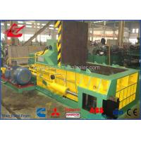 Steel Shavings Scrap Metal Baler With Hopper Cummins Diesel Engine Power Supply Manufactures