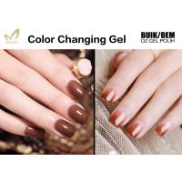 No Layering Thermal Color Changing Nail Polish , Healthy Mood Nail Polish Gel Manufactures