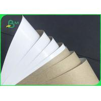 Grade AA 140gsm 170gsm Recyclable White Top Kraft Liner Paper For Packaging Manufactures