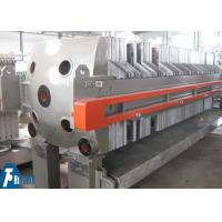 China Cast Iron Chamber Filter Press Machine For Ceramic Slurry Dewatering on sale