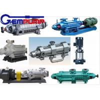 DG 85-67 Multistage High Pressure Pumps single-suction / boiler water feed pump Manufactures
