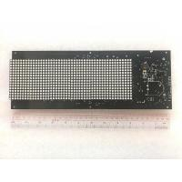 6 Layer Led Printed Circuit Board FR4 500MM Length*60MM Width black soldermask Manufactures