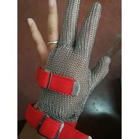 Anti-spear Knife Stainless Steel Gloves With Five Fingers For Slaughterhouse Manufactures