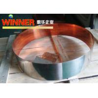 China Nickel Composite Copper Metal Strips , Intermittent Nickel Plated Copper Strip on sale