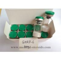 Ghrp-6 Human Growth Hormone Peptide / Natural Growth Hormone Supplements For Fat Loss Manufactures