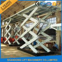 China 10T Heavy Duty Stationary Hydraulic Scissor Lift Table for Cargo with CE TUV SGS on sale