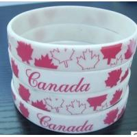 China promotional gift cheap silicone bracelet on sale