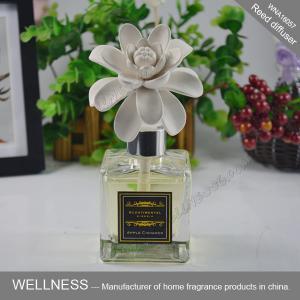 Exquisite Ceramic Scent Diffuser , Ceramic Flower Fragrance Diffuser ITS Approved Manufactures