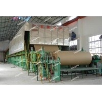 China 1575mm Three-Layer Fourdrinier High Speed Kraft Paper Cardboard Paper and Test Liner Paper Making Machinery on sale
