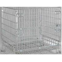 Metal Dump Bin  Steel Mesh Storage Cages for sale