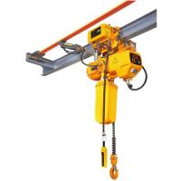 Electric chain hoist with chain bag 5 ton Manufactures