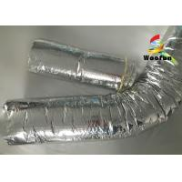 Quality Insulated 10 HVAC Duct Insulation Wrap , Aluminum Foil Flexible Ventilation for sale