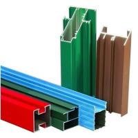 Non-insulated T4 Exterior Aluminum Sliding Window Frame Extrusion Profiles With Milling , Drilling Manufactures
