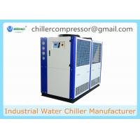 5HP 10HP 20HP 30HP R404A R410A Copeland Compressor Brewery Air Cooled Glycol Chiller Manufactures