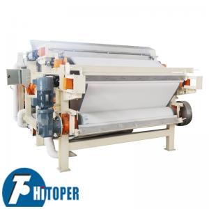 Smooth Belt Conveyor Juice Filter Press , Solid Liquid Separation Belt Press Machine Manufactures