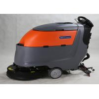 Full Automatic  Floor Scrubber Dryer Machine 20 Inch Single Brush No Telecontroller Manufactures