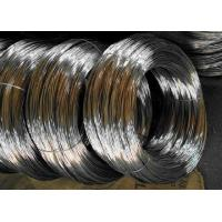 BWG 22 Gauge Galvanized Iron Wire 30 - 40kg/Mm2 Tensile Silver Color Manufactures
