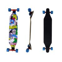 Canadian Pro  Maple Wood Longboard  17 Ply  42x 8 x 10.5 mm ABEC-9 Chrome Manufactures