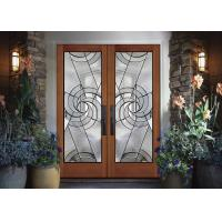 Double Pane Hollow Stained Glass Panels Air / Argon Insulating Thickness 16-30mm Manufactures