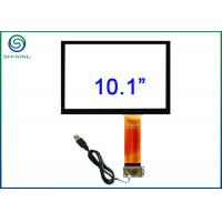 10.1 Inch Capacitive Touch Sensor Bonded On Front Glass For Open Frame Industrial Displays Manufactures